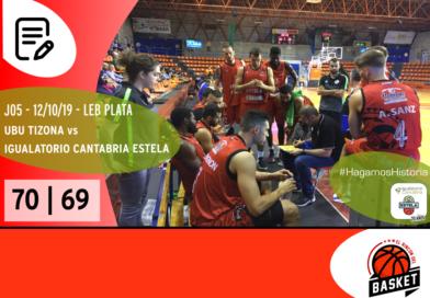 Un 3+1 nos dejó helados en Burgos (70-69 vs UBU Tizona).