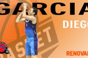 Valoración de Asier Gordo sobre la renovación de Diego García