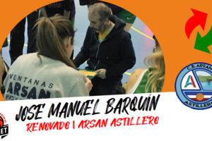Jose Manuel Barquín: Es un orgullo personal continuar en el proyecto Arsan