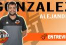 Álex González: «Venimos a Torrelavega con muchas ganas, con un equipo vistoso».