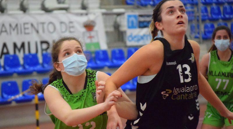 Bball Hopes Igualatorio Cantabria vence tras un 3-21 en el cuarto periodo