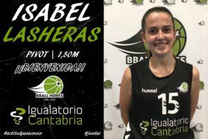 Isabel Lasheras, nuevo refuerzo para Igualatorio Cantabria BballHopes
