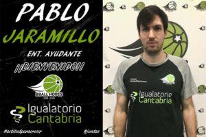 Pablo Jaramillo se une al staff de Igualatorio Cantabria