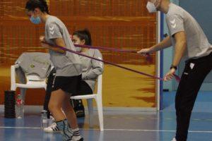 Laura Cuesta: «El deporte para mi es muy importante. Quiero volver recuperada»